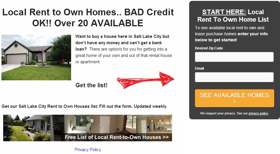 Rent To Own Homes in Utah - Northern Realty | Phone 801-447-1700 ...