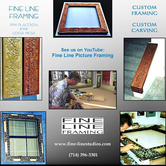 Fine Line Picture Framing | Phone 714-396-3301 | Costa Mesa, CA ...