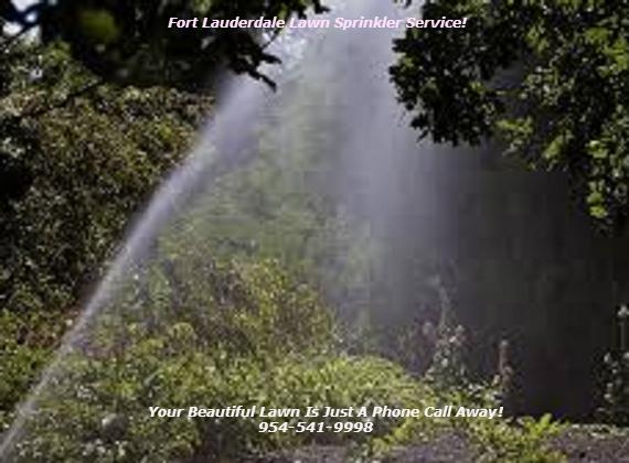 Fort Lauderdale Lawn Sprinkler Service - Phone 954-541 ...