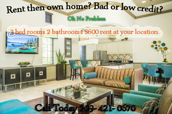 Beautiful 3 Bedroom 2 Bath for rent to own home | Phone ...
