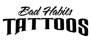 Bad habits tattoos phone 954 368 3195 fort lauderdale for Handcrafted tattoo shop fort lauderdale