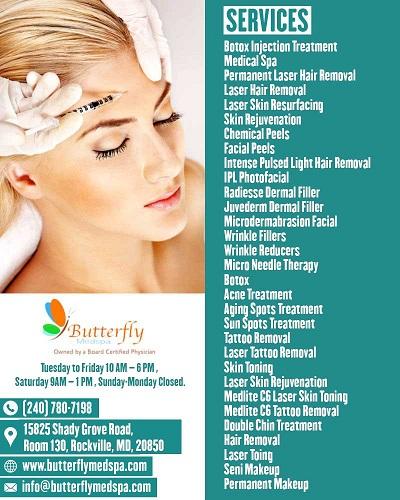 Butterfly Medical Spa In North Potomac