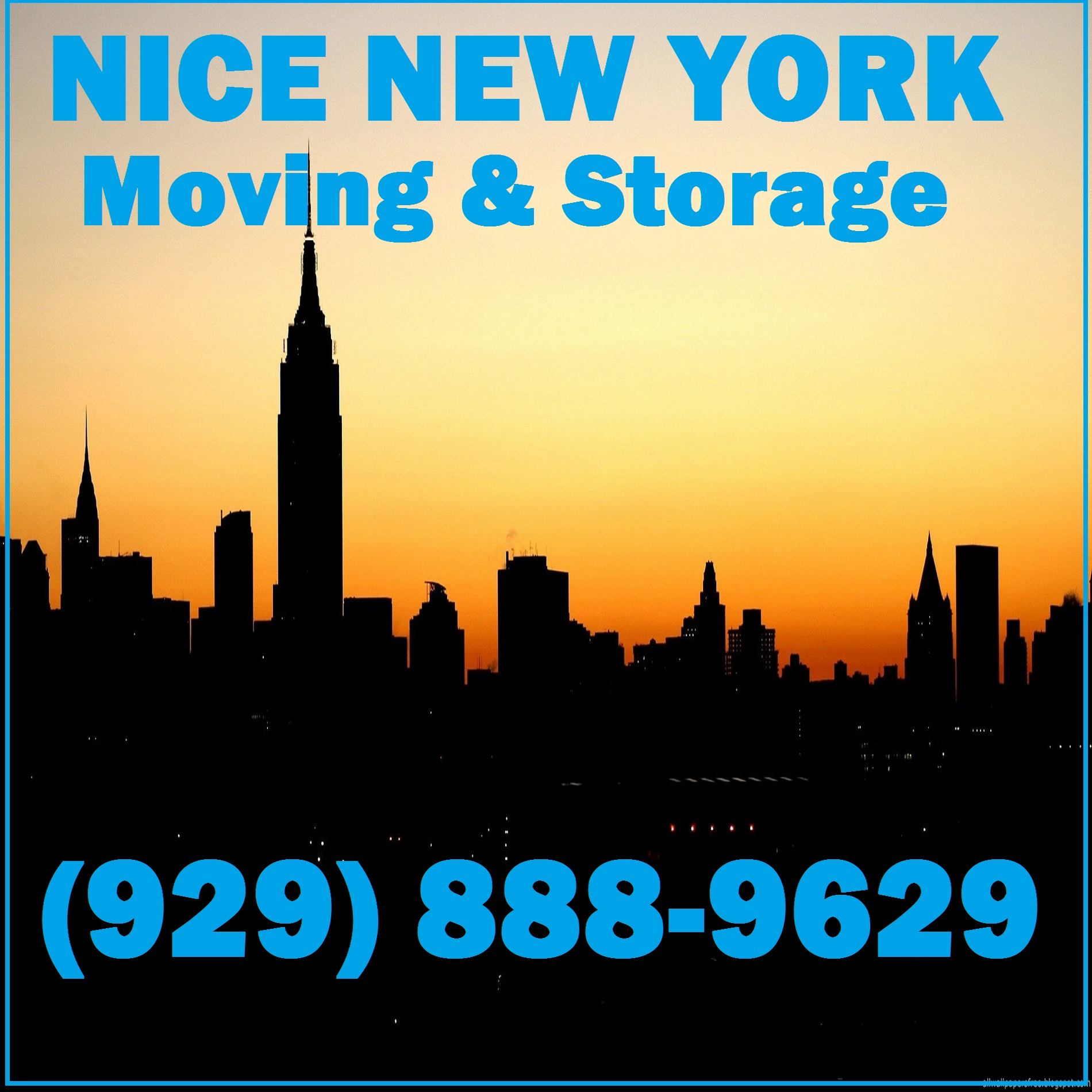 Nice New York Moving and Storage
