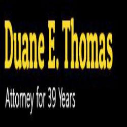 Duane E. Thomas, Attorney at Law