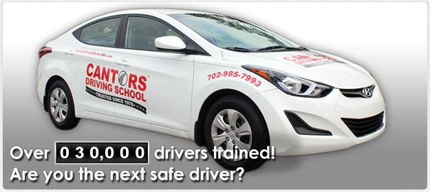 Cantor's Driving School | Phone 702-985-7993 | Las Vegas, NV