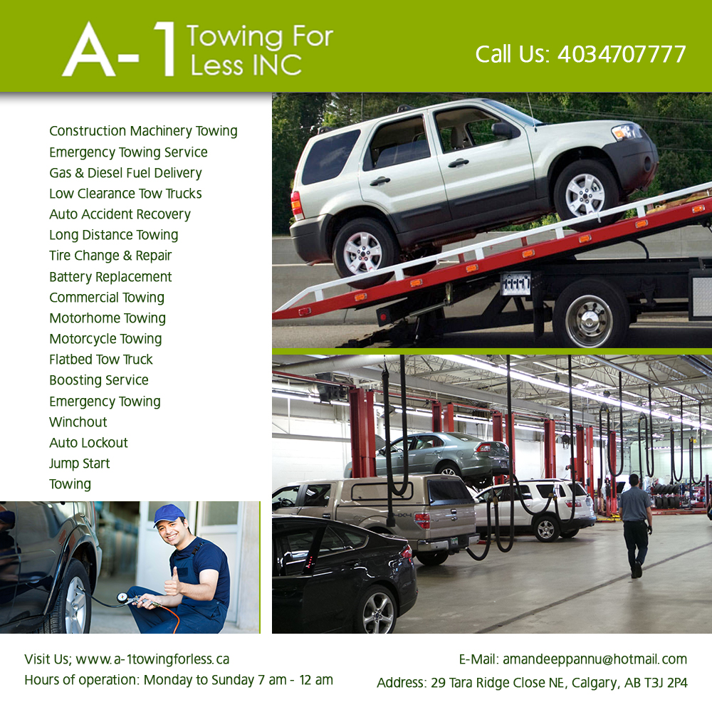 Tow For Less >> A 1 Towing For Less Inc Gas Diesel Fuel Delivery In