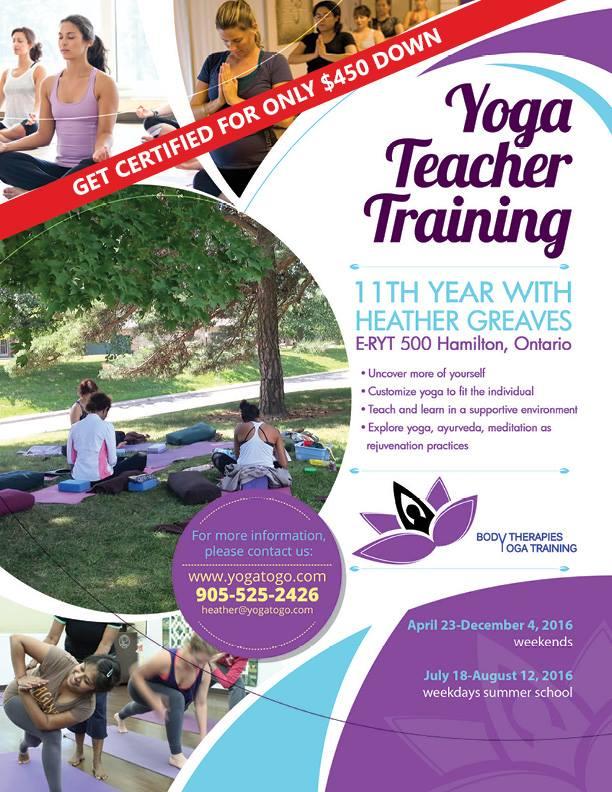 Body Therapies Yoga Training