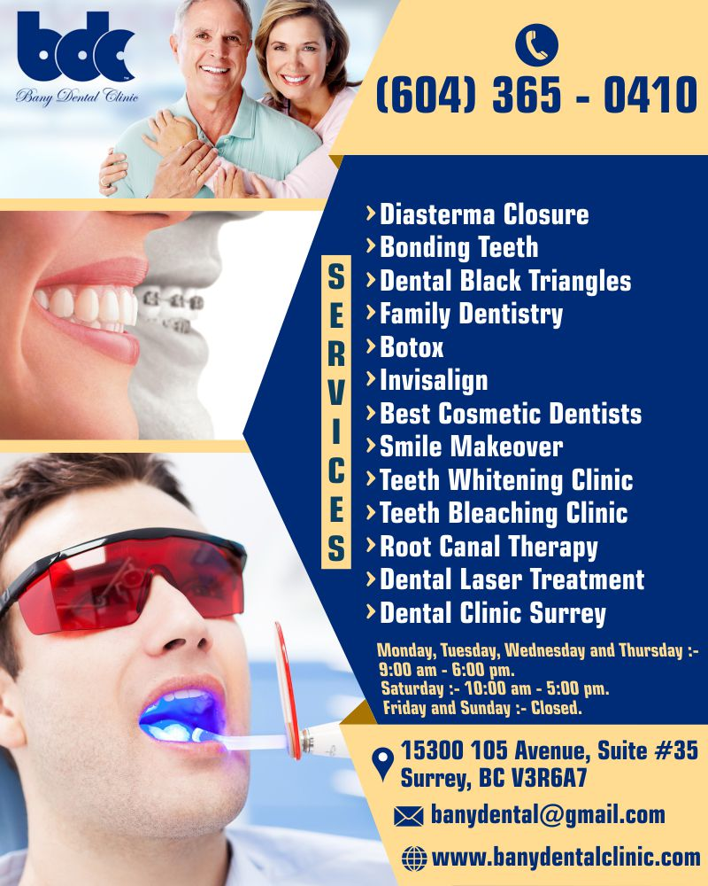 Bany Dental Clinic   Best Cosmetic Dentists Surrey