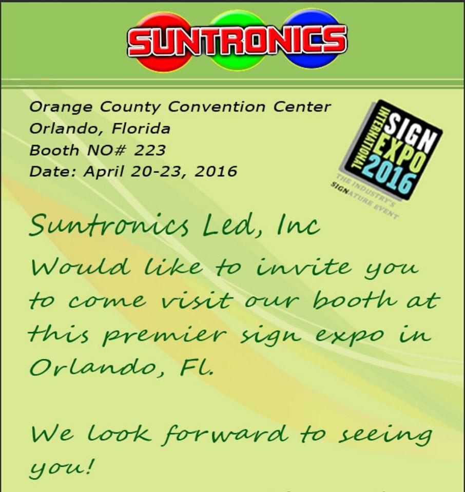 Suntronics LED Inc