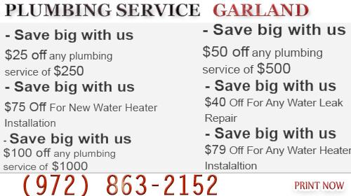 Plumbing Service Garland