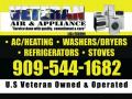 Veteran air and appliance repair