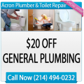 Acron Plumber & Toilet Repair