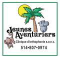 Jeunes Aventuriers, clinique d'orthophonie S E N C Montreal