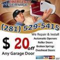 Garage Door in Kingwood