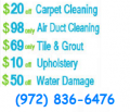 Dallas TX Carpet Cleaning Service