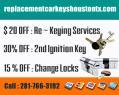 Replacement Car Keys Houston TX