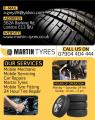 Martin Tyres and Top A Tyres   Mobile Servicing London
