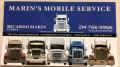 Marin's Mobile Truck &Trailer Service