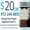 Garage Door Repair Highland Park TX