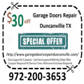 Garage Doors Repair Duncanville