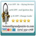 Locksmith Grand prairie TX