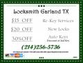 Locksmiths Garland TX