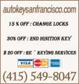 Auto Key San Francisco