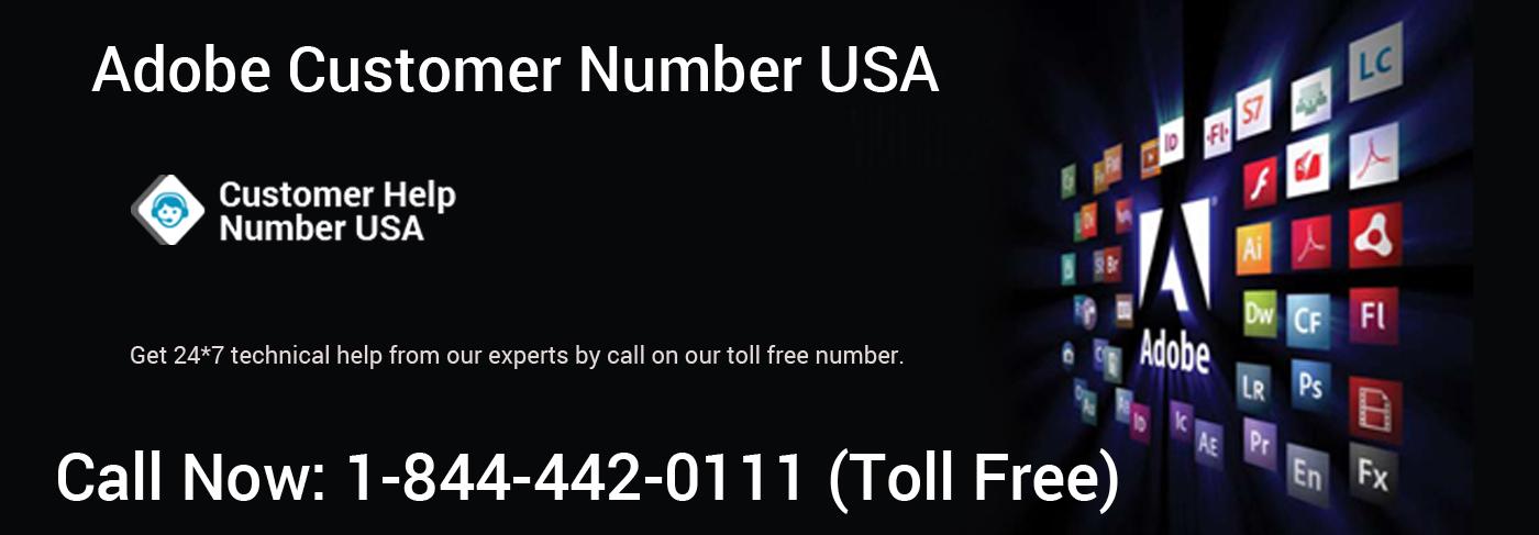 Adobe Help Number +1-844-442-0111