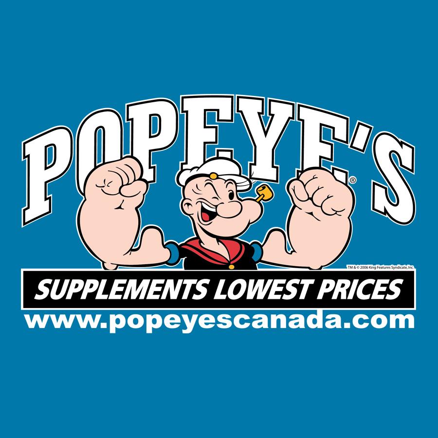 Popeye's Supplements Thunder Bay