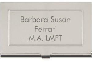 Barbara Ferrari, LMFT