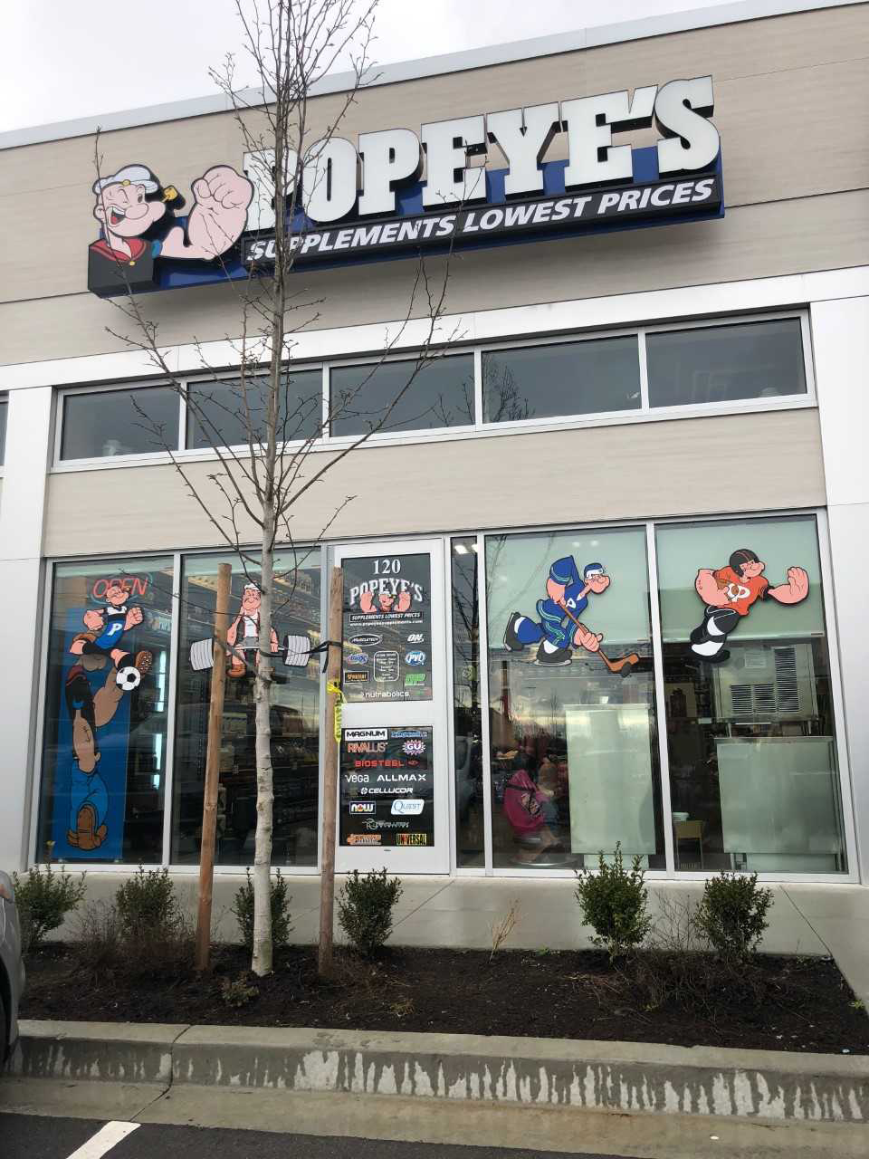 Popeye's Supplements South Surrey