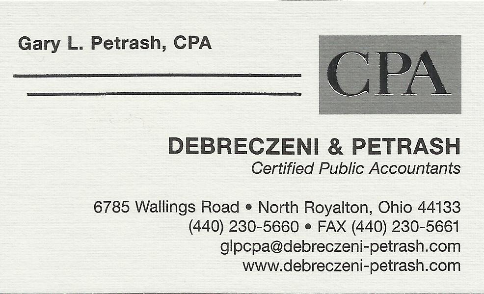 Debreczeni & Petrash CPA's Inc