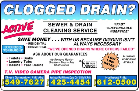 Active Plumbing and Drain Cleaning